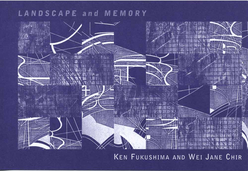 Landscape and Memory, flyer, pg 1