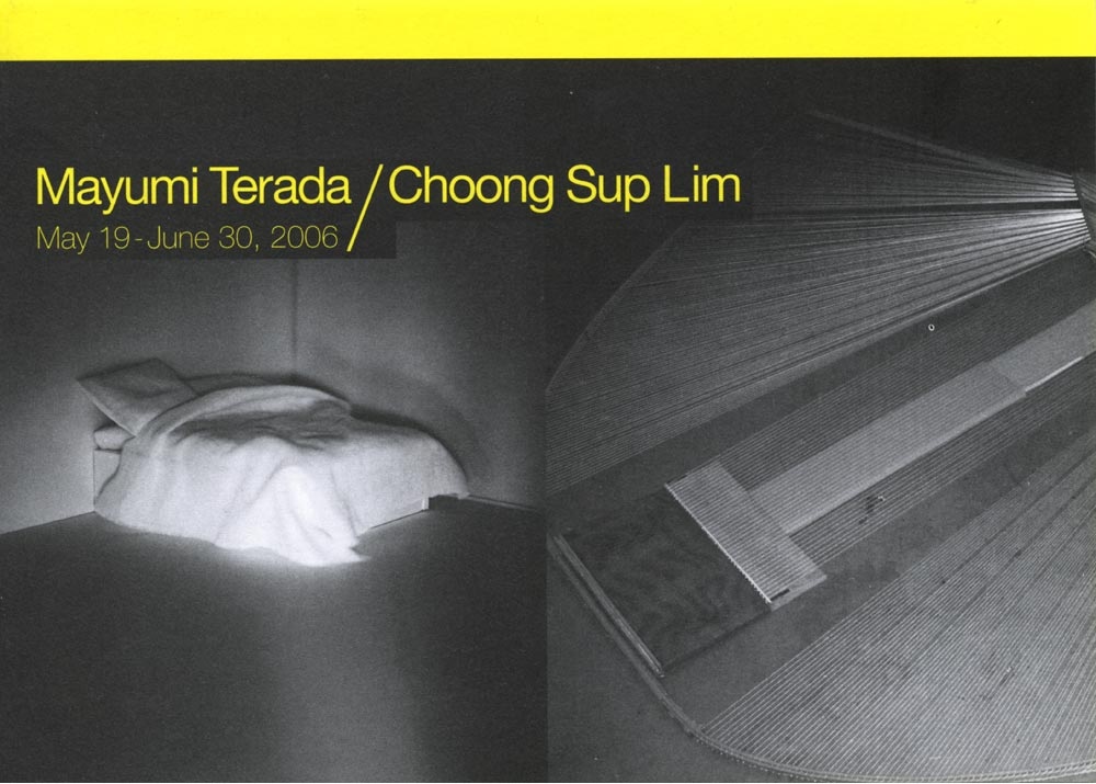 Mayumi Terada/Choong Sup Lim, flyer, pg 1