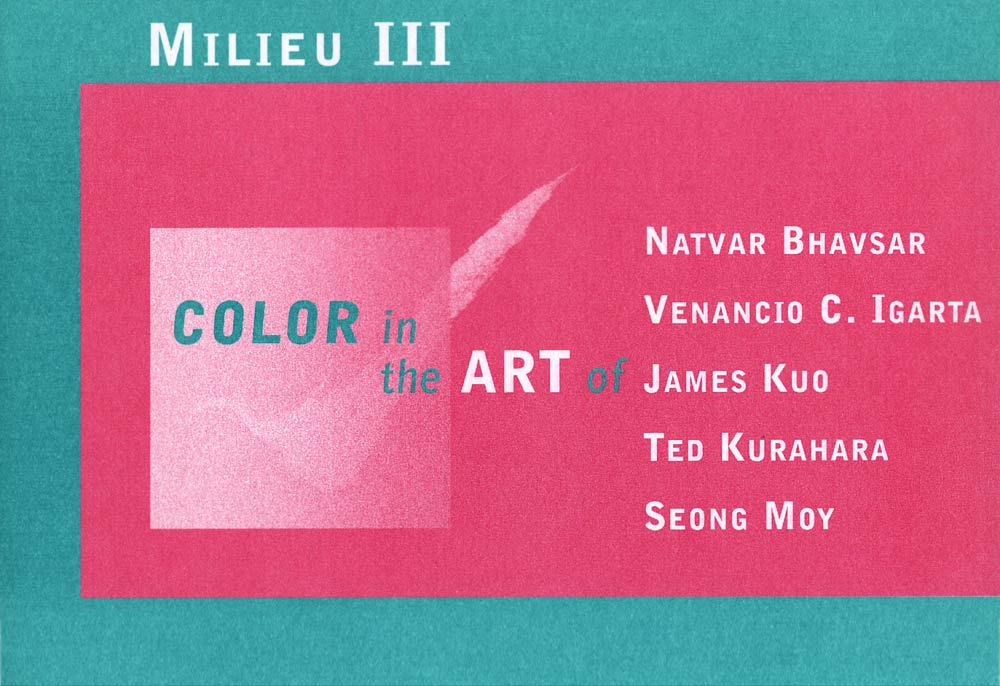 Milieu III: Color in the Art of, flyer, pg 1