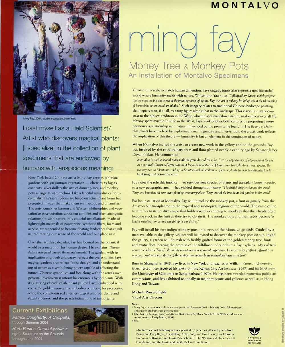 Money Tree & Monkey Pots, flyer, pg 2
