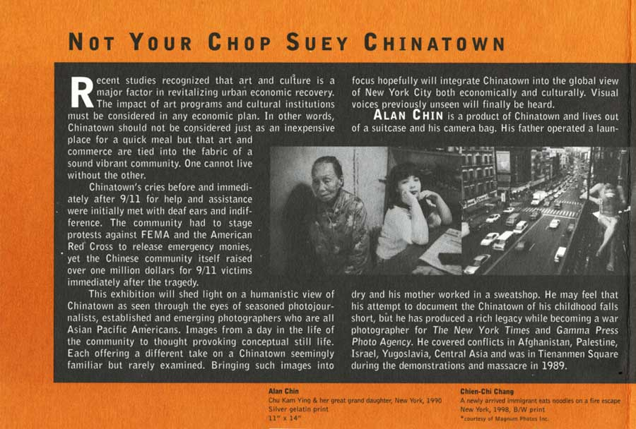 Not Your Chop Suey Chinatown, flye, pg 2
