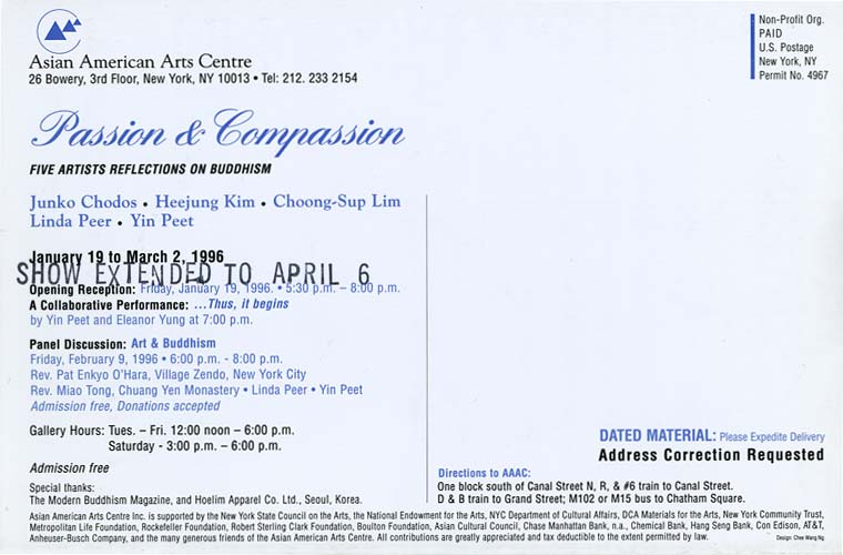 Passion &amp; Compassion, flyer, pg 3