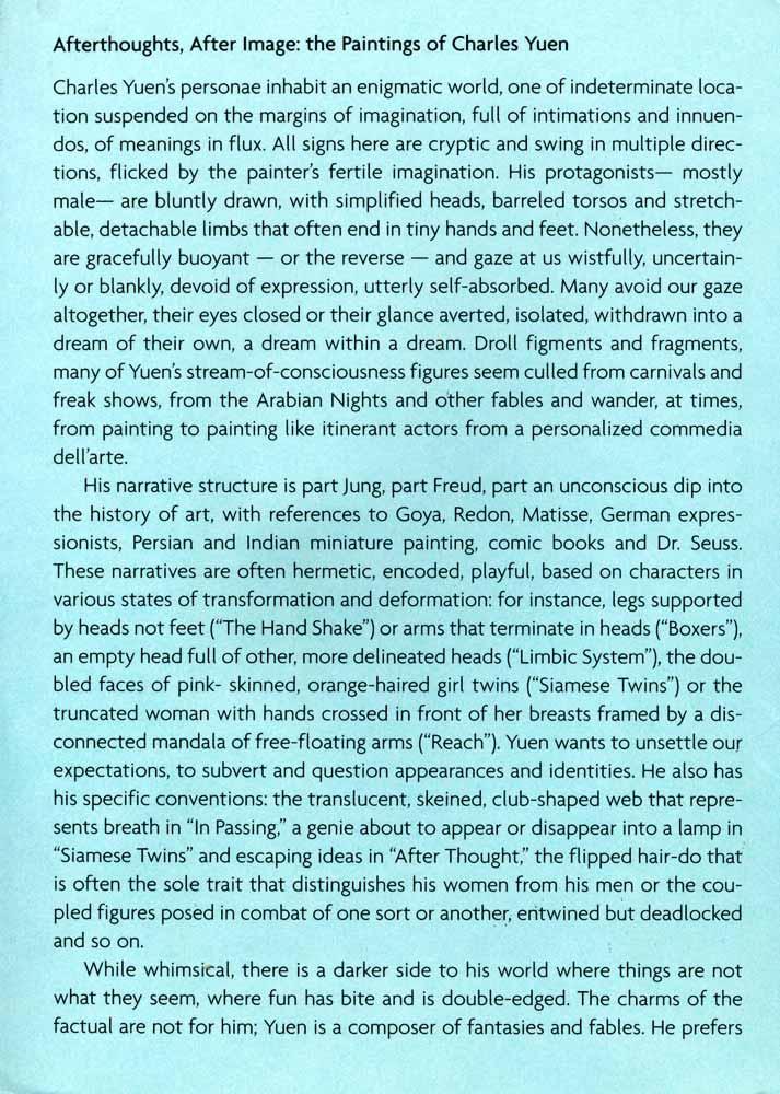 Point Arabesque flyer, pg 2