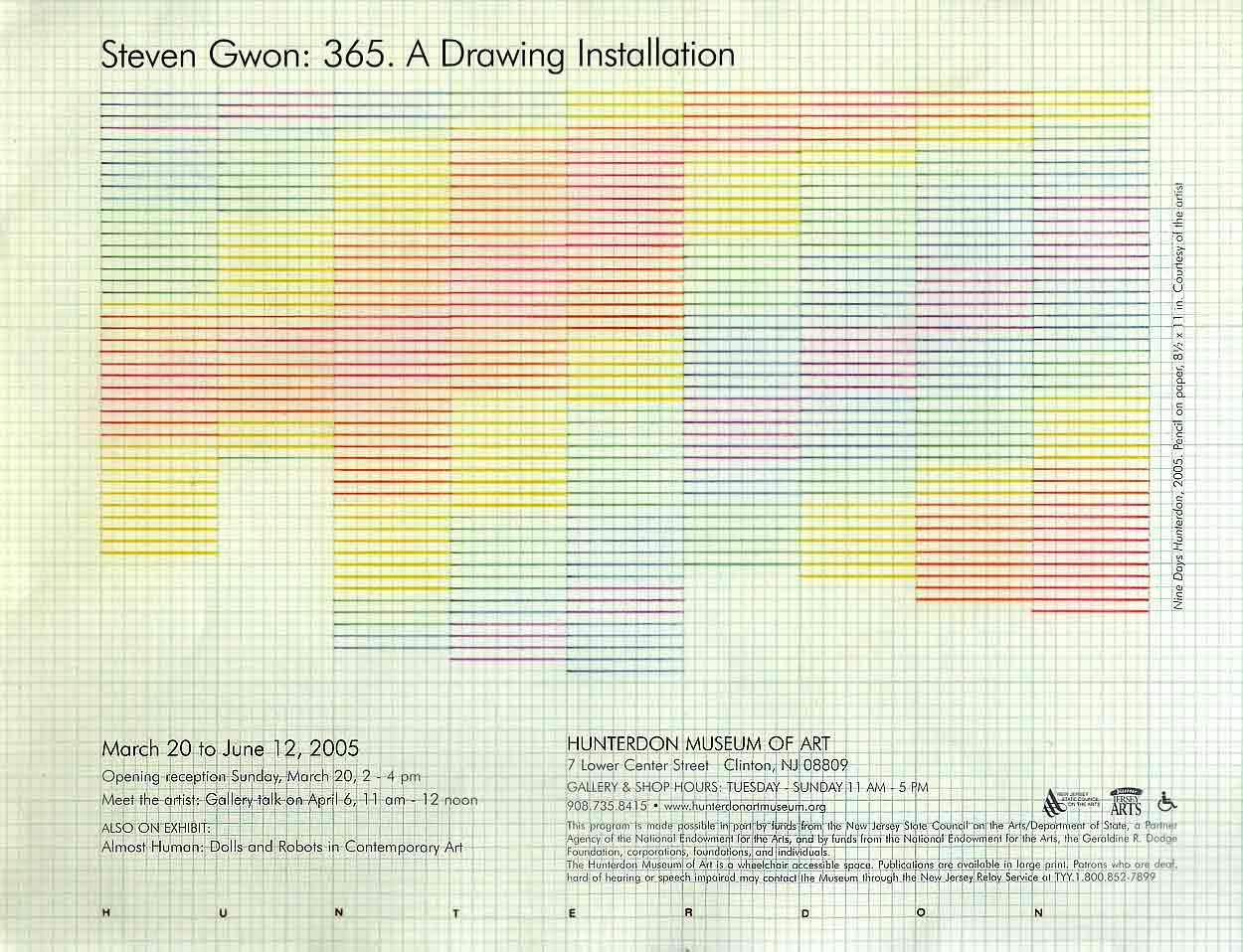 Steven Gwon.365, flyer