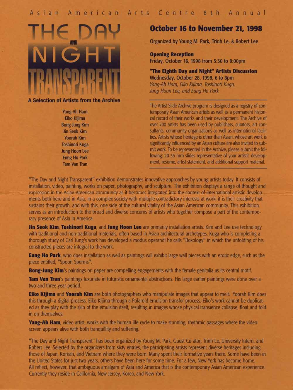 Day and Night flyer, pg 2