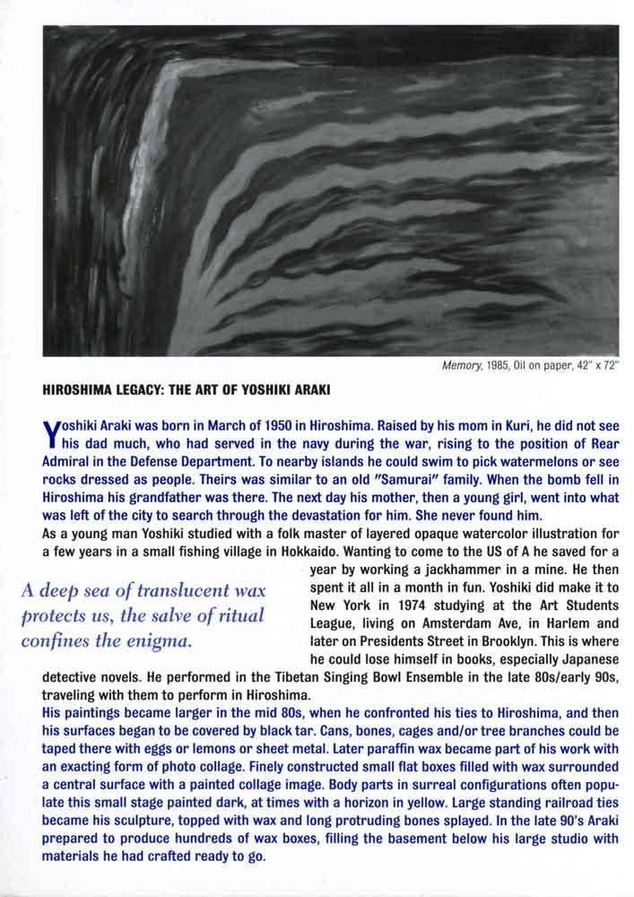 Hiroshima Born flyer, pg 2