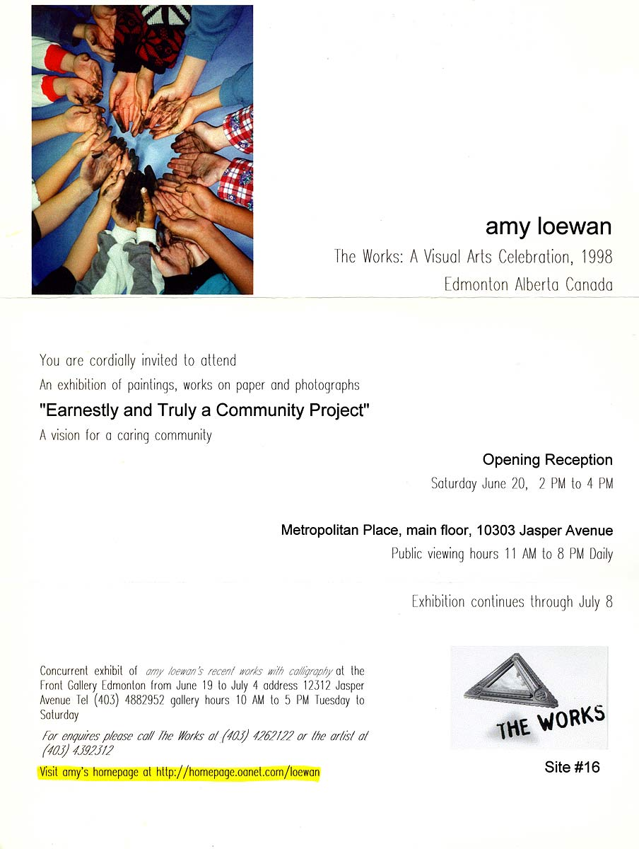 amy loewan, flyer