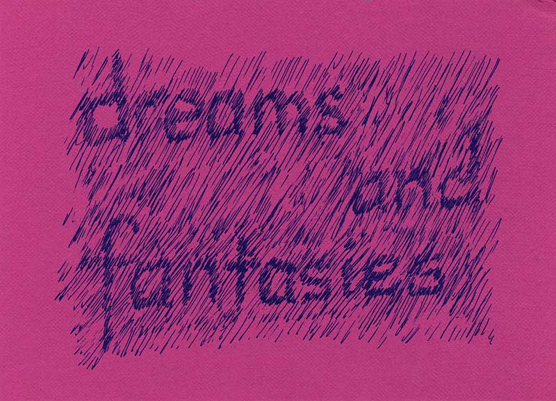 Dreams & Fantasies, postcard, pg 1