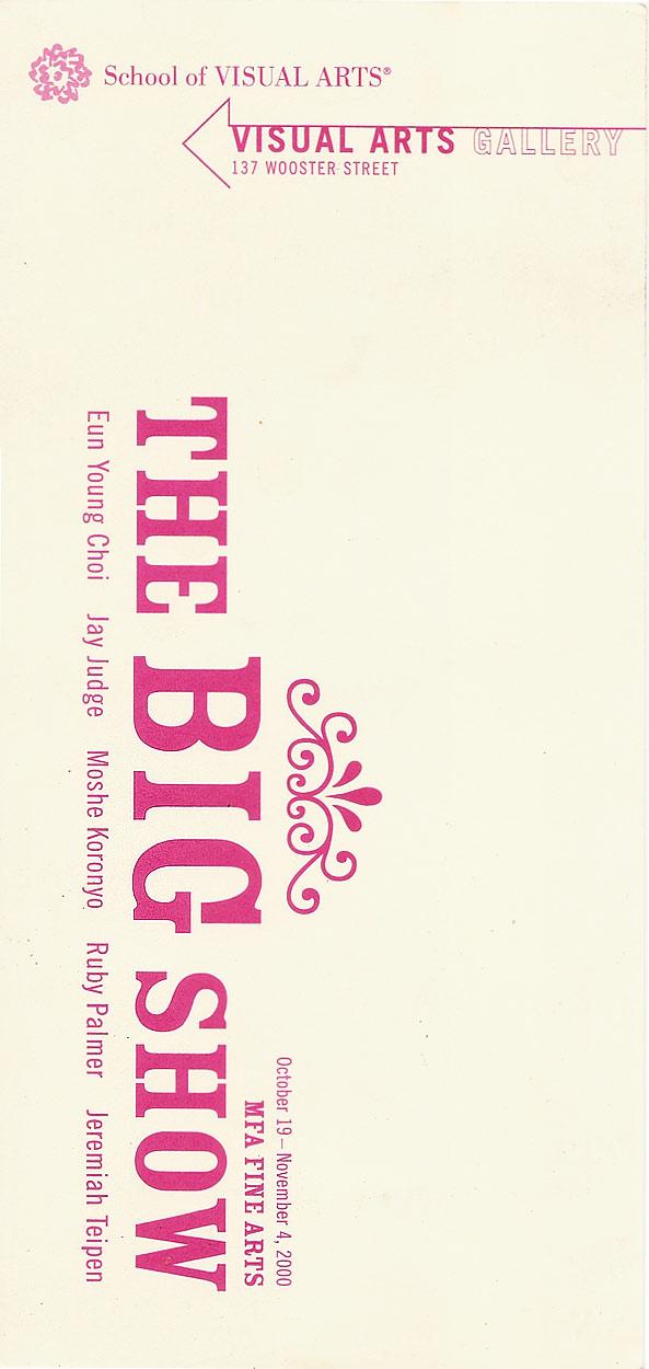 The Big Show, postcard