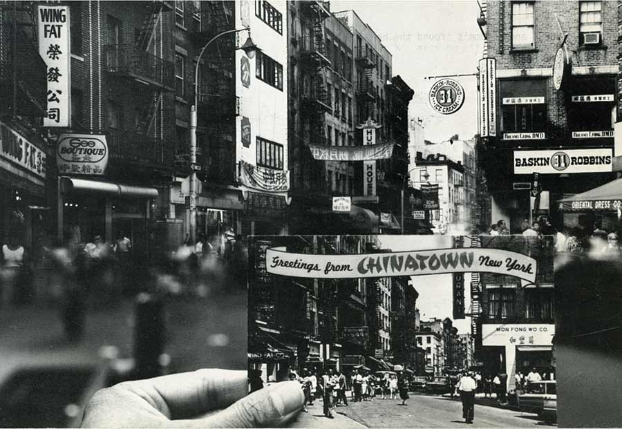 SOLO in SOHO a la Chinatown, postcard, pg 1