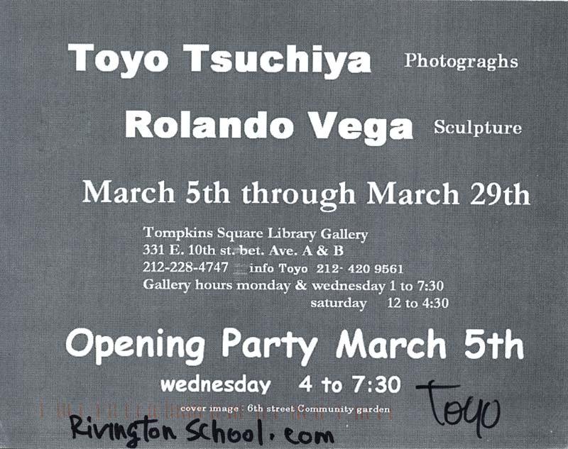 Toyo Tsuchiya, Roland Vega, pg 2