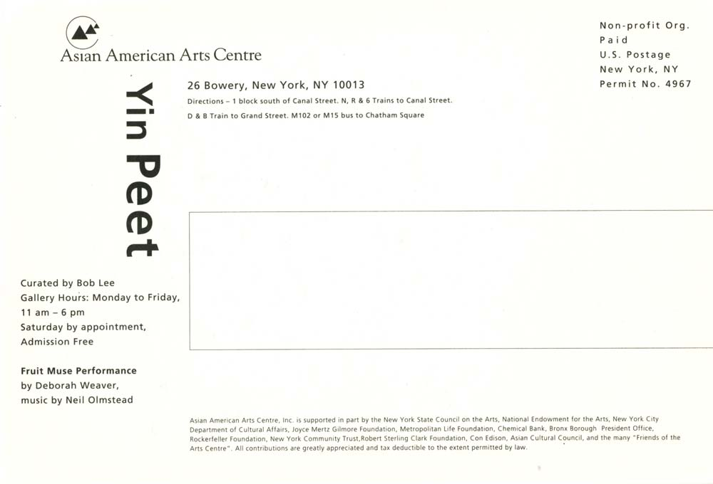 Fruit Muse, postcard, pg 2