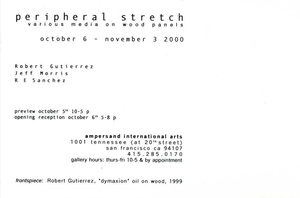 peripheral stretch, postcard, pg 2