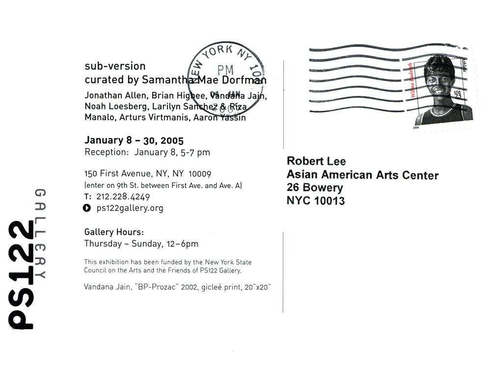 sub-version, postcard, pg 2