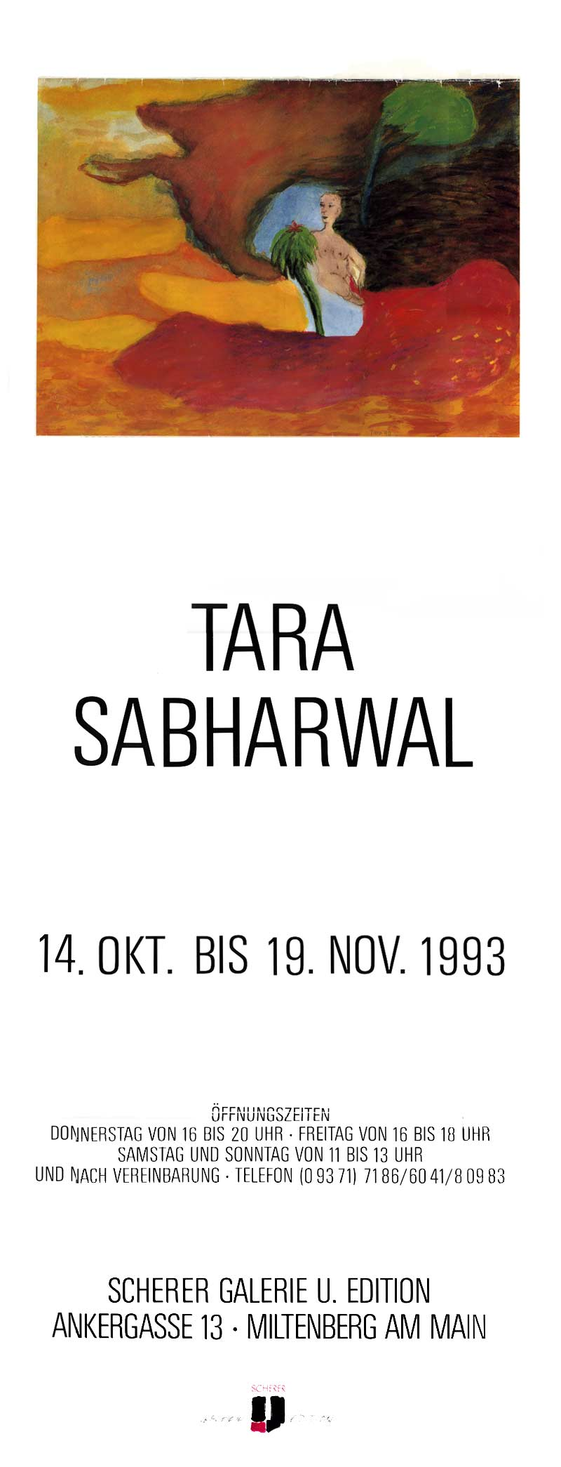 Tara Sabharwal, poster