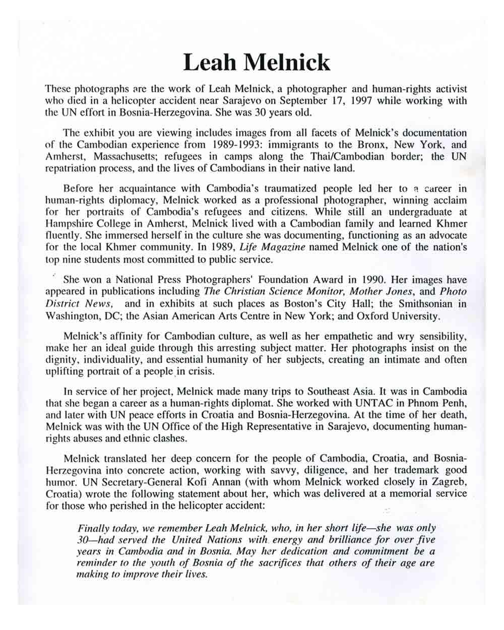 Continuing Struggle press release,  pg 2