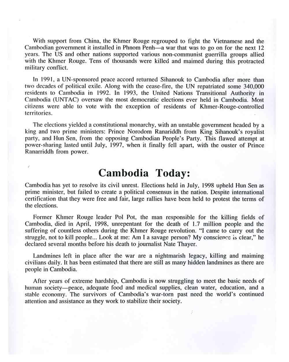 Continuing Struggle press release,  pg 4