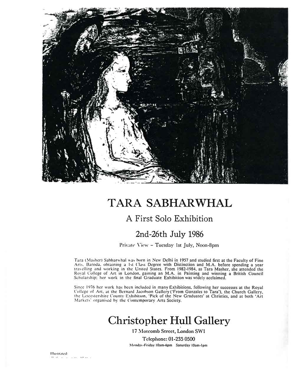 Tara Sabharwhal at Christopher Hull Gallery, pg 2