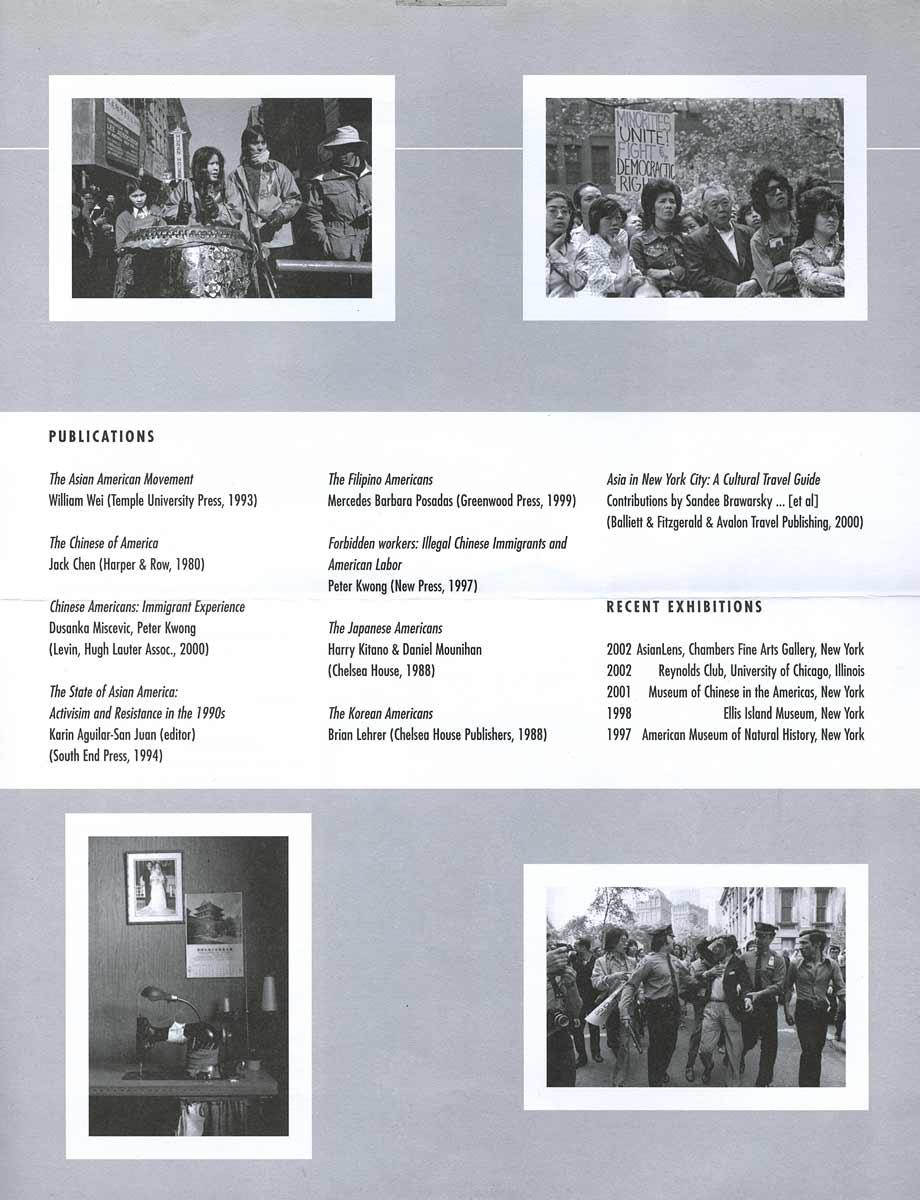 2002 Artist-In-Residence: Corky Lee, leaflet, pg 3