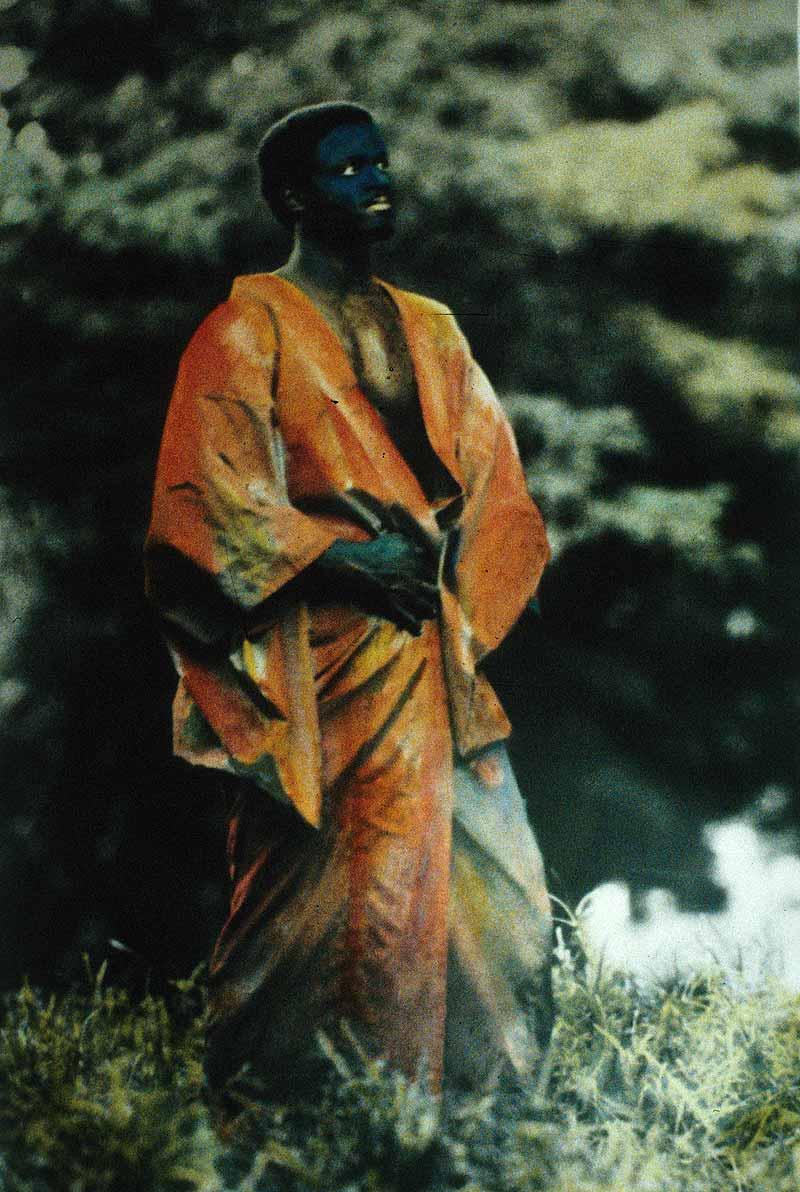 Men In Red Kimono