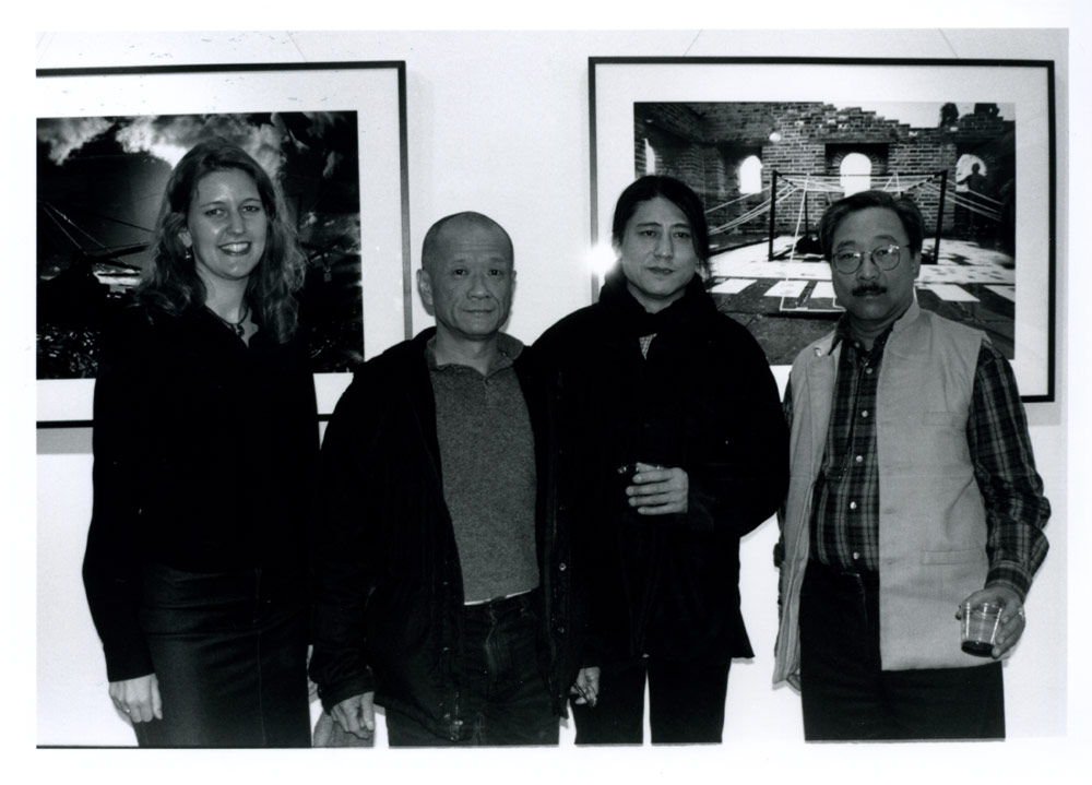 Group portrait of Zheng Lianjie and others