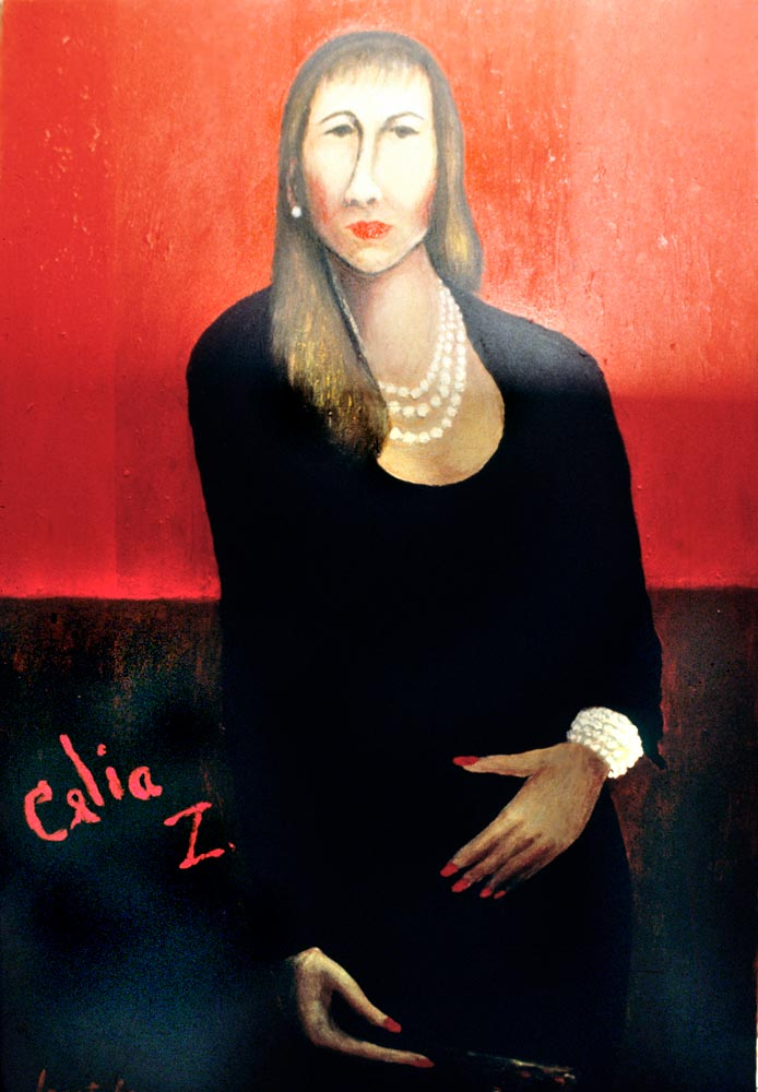 Portrait of Celia Zenaida