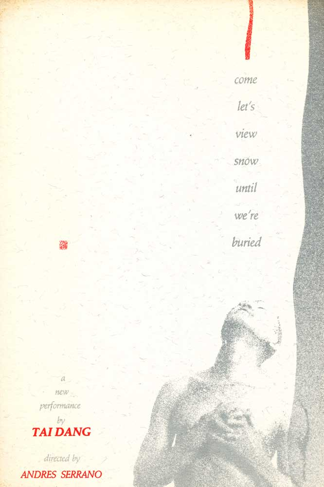 come let's view snow until we've buried, postcard, pg 1