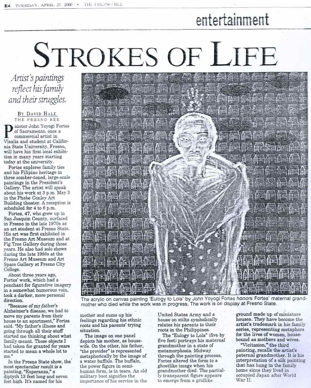 Strokes of Life, article