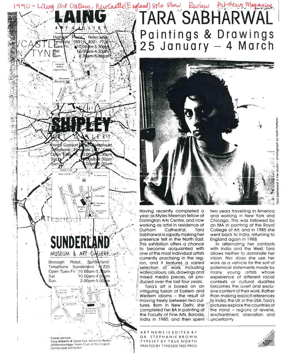 Tara Sabharwal, review, pg 1