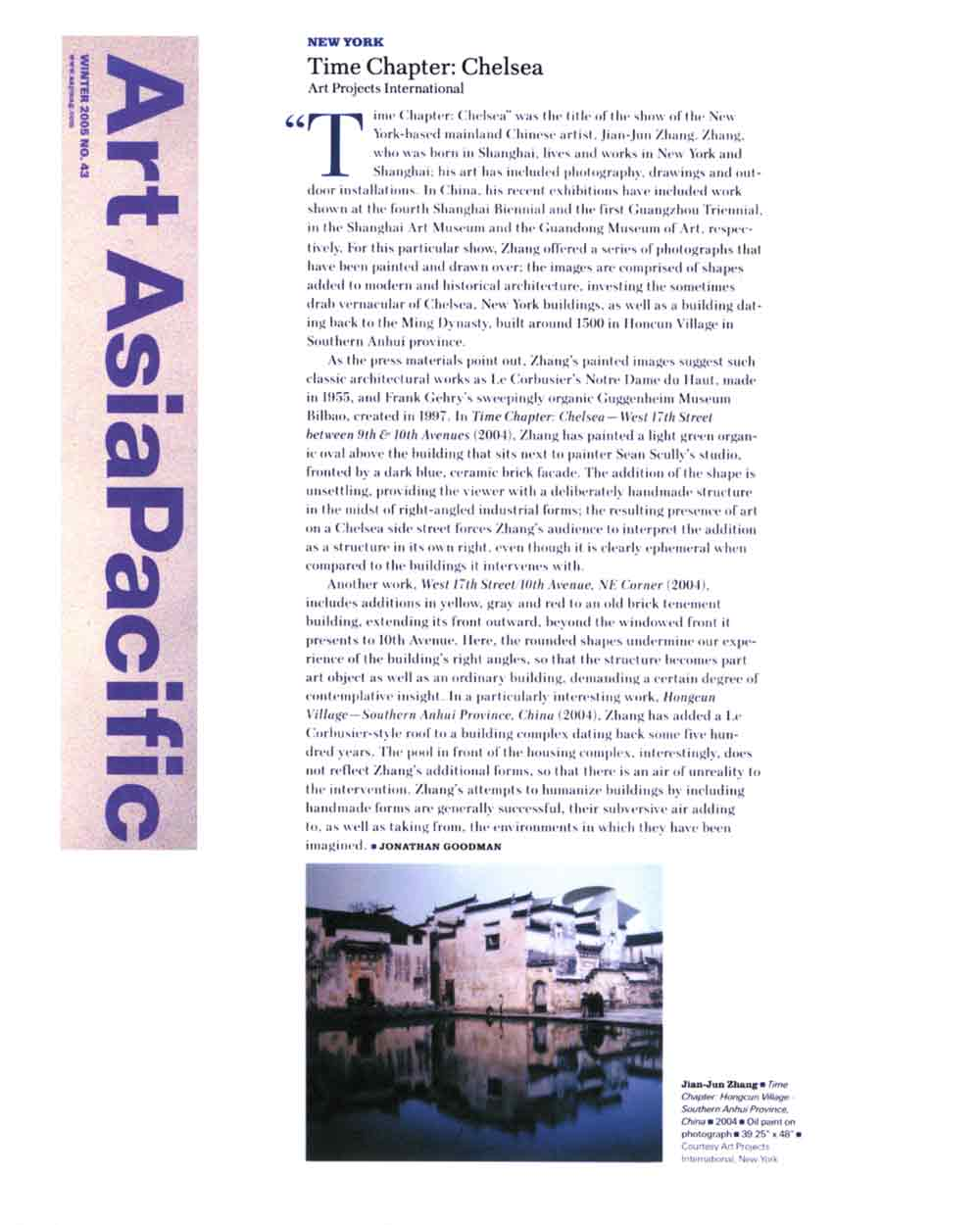 Time Chapter: Chelsea: Art Projects International, review