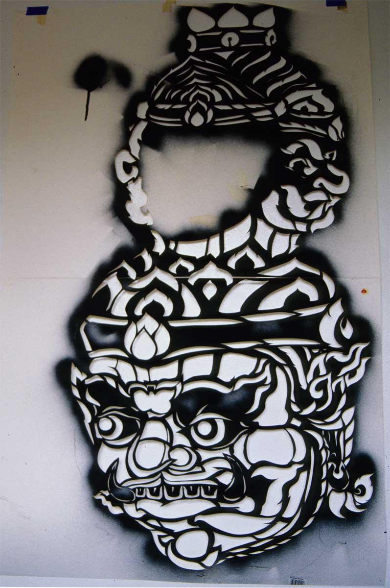 Stencil Demon